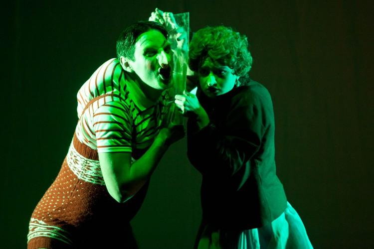 "Spain The Academy of Dramatic Arts, Seville ""The Freak Child"" La Tarara Teatro"